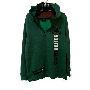 NWOT | Boston Celtics Hoodie 3/4 Zip Boys